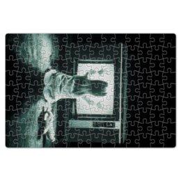 """Пазл магнитный 18 x 27 (126 элементов) """"Полтергейст"""" - страх, кино, призрак, ужасы, привидение"""