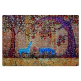 """Пазл магнитный 18 x 27 (126 элементов) """"Сказочный сад."""" - праздник, любовь, 8 марта, свадьба, сад"""