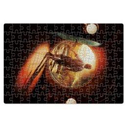 "Пазл магнитный 18 x 27 (126 элементов) ""Хоббит"" - кино, властелин колец, hobbit, фродо, бильбо"