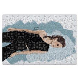 """Пазл магнитный 18 x 27 (126 элементов) """"Emma Watson"""" - арт, поп, my art, стиль, девушка"""