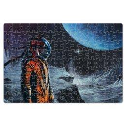 """Пазл магнитный 18 x 27 (126 элементов) """"Космонавт"""" - космонавт, космос, space"""