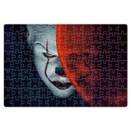 """Пазл магнитный 18 x 27 (126 элементов) """"Пеннивайз"""" - it, оно, pennywise, пеннивайз, злобный клоун"""