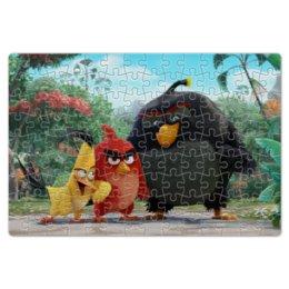 """Пазл магнитный 18 x 27 (126 элементов) """"Angry Birds"""" - games, игры, angry birds, энгри бёрдс, злые птици"""