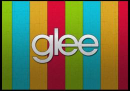 "Пазл магнитный 18 x 27 (126 элементов) ""Glee/Хор/Лузеры пазлы"" - сериал, glee"