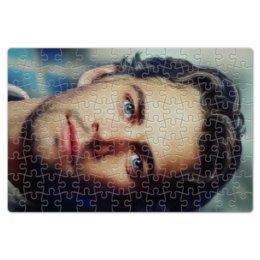 "Пазл магнитный 18 x 27 (126 элементов) ""Пол Уокер Paul Walker"" - брайн оконнер, актер, форсаж, пол уокер, paul walker"