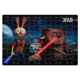 """Пазл магнитный 18 x 27 (126 элементов) """"«Звёздные во́йны» """" - юмор, приколы, star wars, фильмы, звёздные войны"""