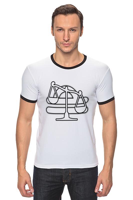 Футболка Рингер Printio Знак зодиака весы. футболка рингер printio знак зодиака телец