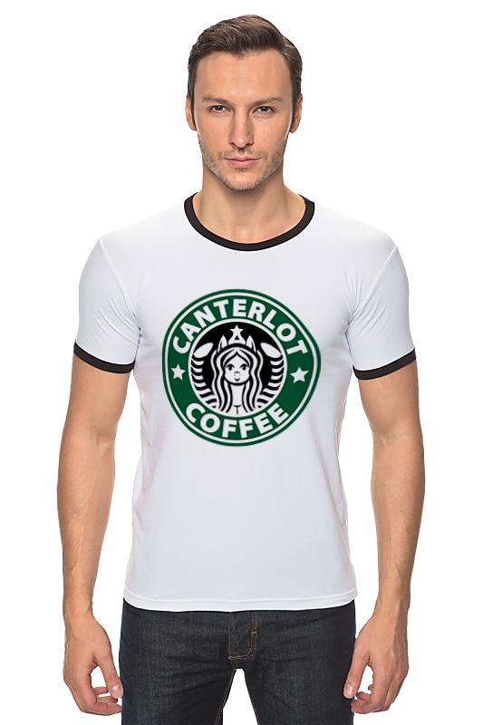 Футболка Рингер Printio Canterlot coffee (starbucks x luna) футболка рингер printio belles book cafe starbucks