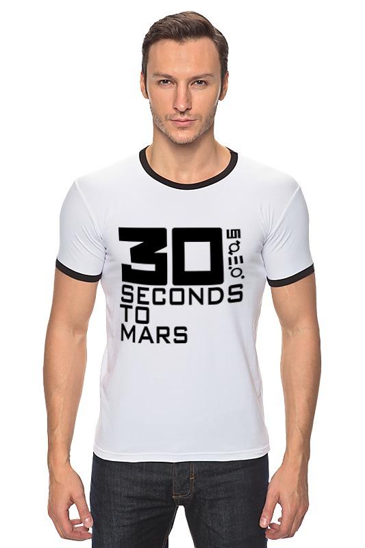 Футболка Рингер Printio 30 seconds to mars майка борцовка print bar 30 seconds to mars