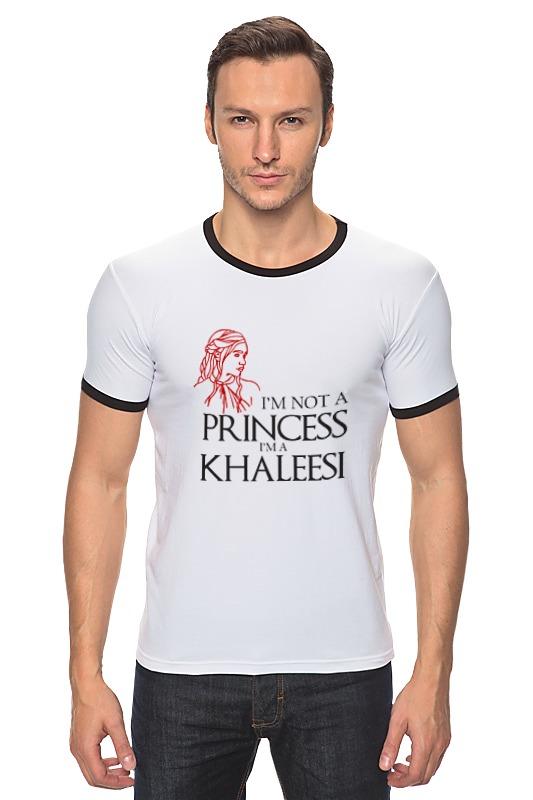 Футболка Рингер Printio Игра престолов (game of thrones) khaleesi a game of thrones