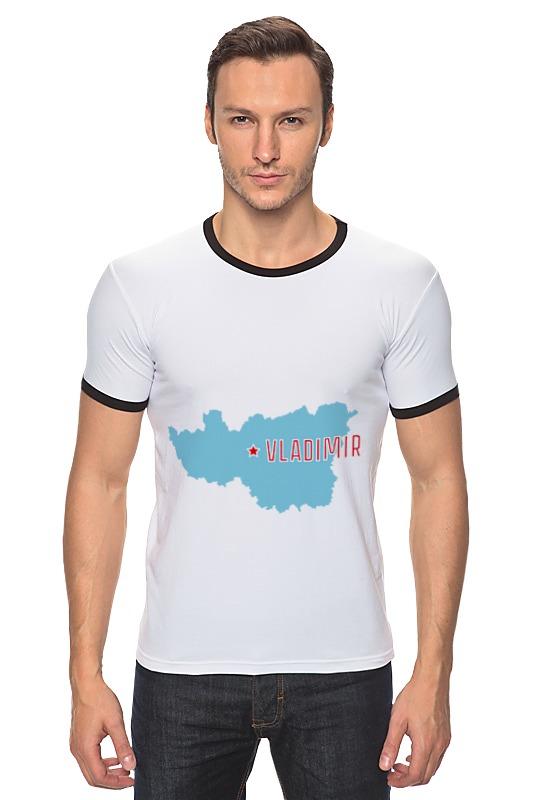 Футболка Рингер Printio Владимирская область. владимир