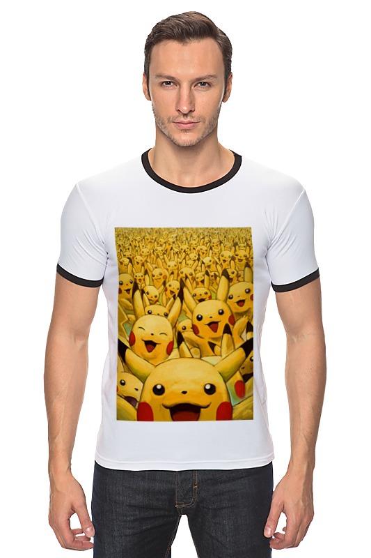 Футболка Рингер Printio Pokemon go by k.karavaev блокнот printio pokemon go