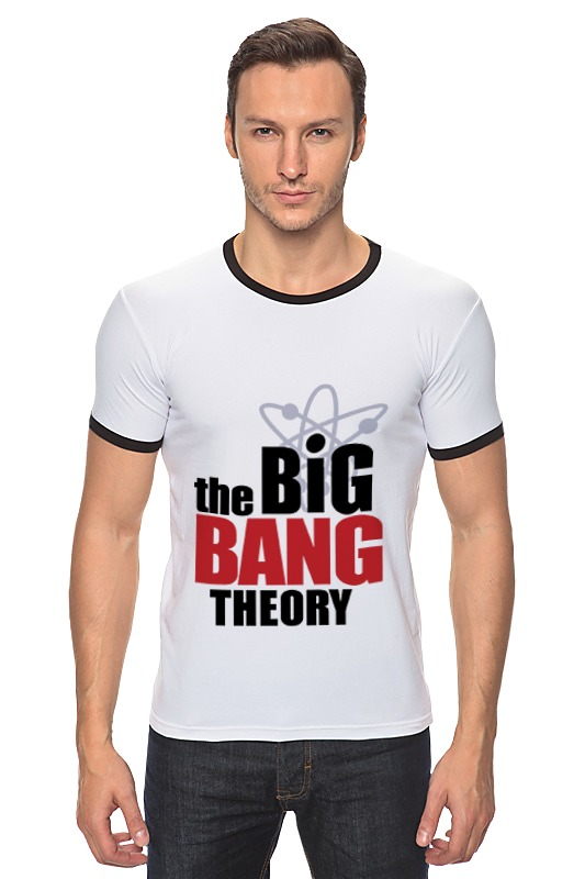 Футболка Рингер Printio The big bang theory the big bang theory series the flash design cotton t shirt red size m