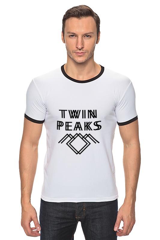 Футболка Рингер Printio Твин пикс (twin peaks) виниловая пластинка сборник twin peaks limited event series soundtrack score