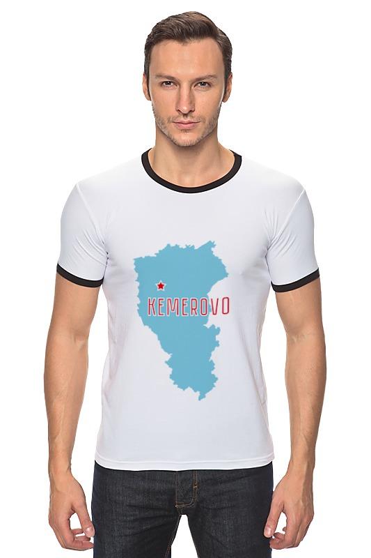Футболка Рингер Printio Кемеровская область. кемерово