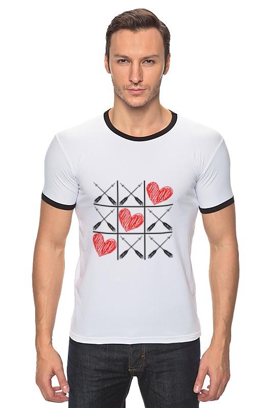 Футболка Рингер Printio Любовь (love) игра