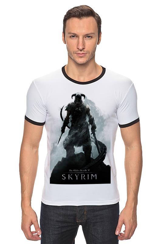 Футболка Рингер Printio The elder scrolls v: skyrim