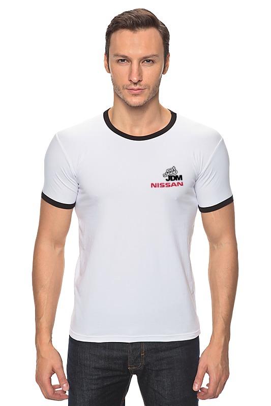 Футболка Рингер Printio Nissan jdm футболка рингер printio авто уаз