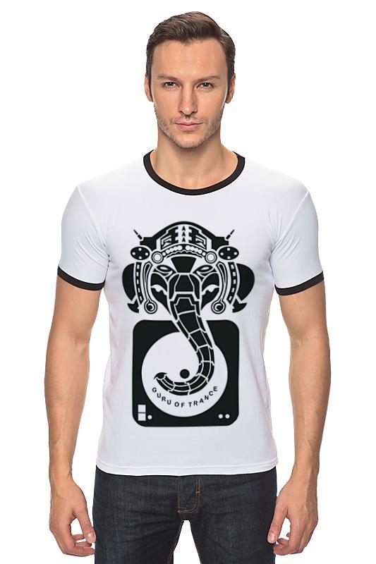 Футболка Рингер Printio Guru of trance футболка для беременных printio guru of trance