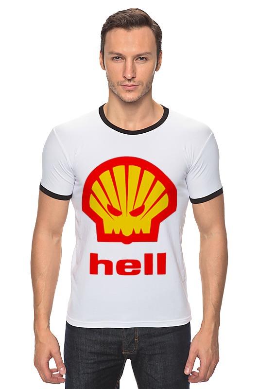 Футболка Рингер Printio Hell (ад) agip масло моторное в краснодаре