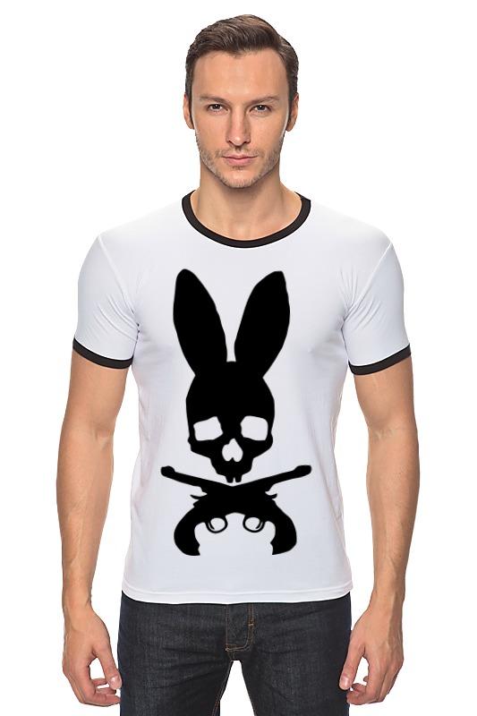 Футболка Рингер Printio Череп зайца футболка рингер printio череп