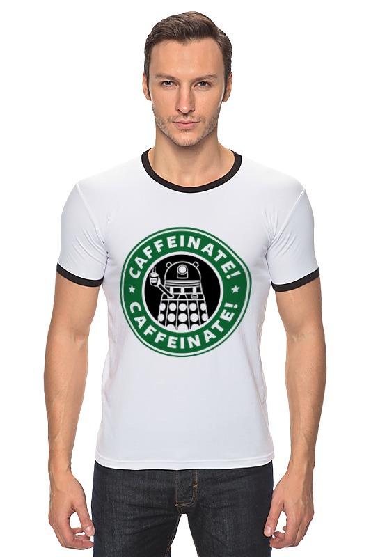 Футболка Рингер Printio Daleks (starbucks) футболка рингер printio belles book cafe starbucks