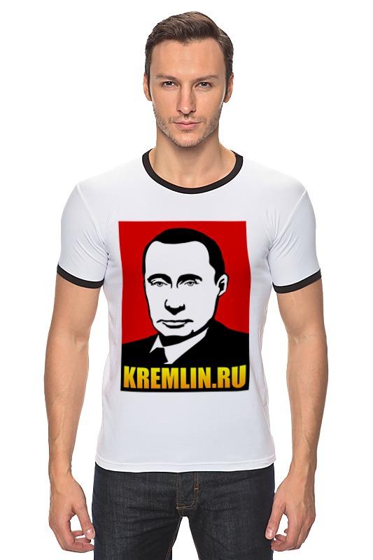 Футболка Рингер Printio Путин