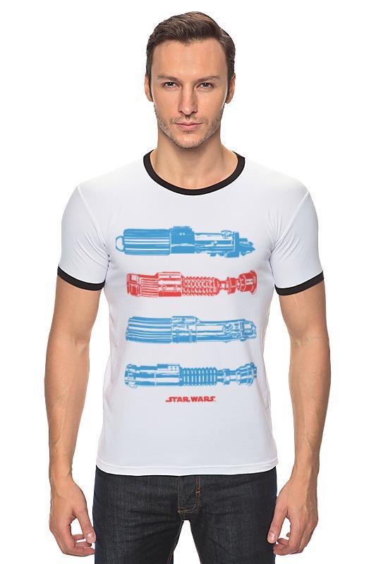Футболка Рингер Printio Световые мечи мечи для тамесигири в москве
