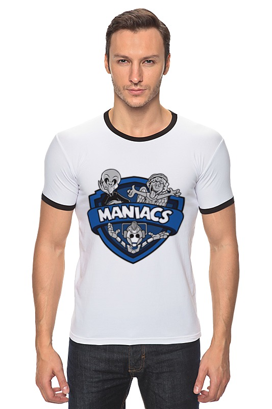 Футболка Рингер Printio Маньяки (доктор кто) футболка рингер printio доктор кто doctor who
