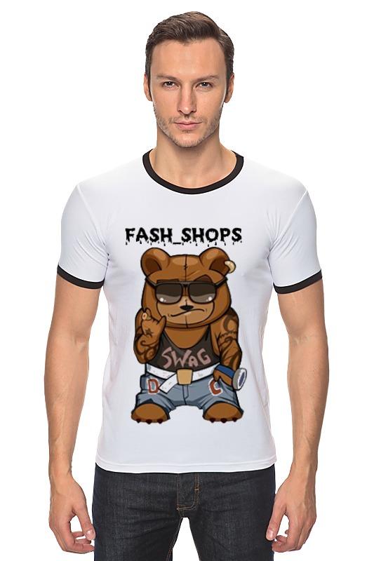 Футболка Рингер Printio Fash_shops swag футболка рингер printio война никогда не меняется