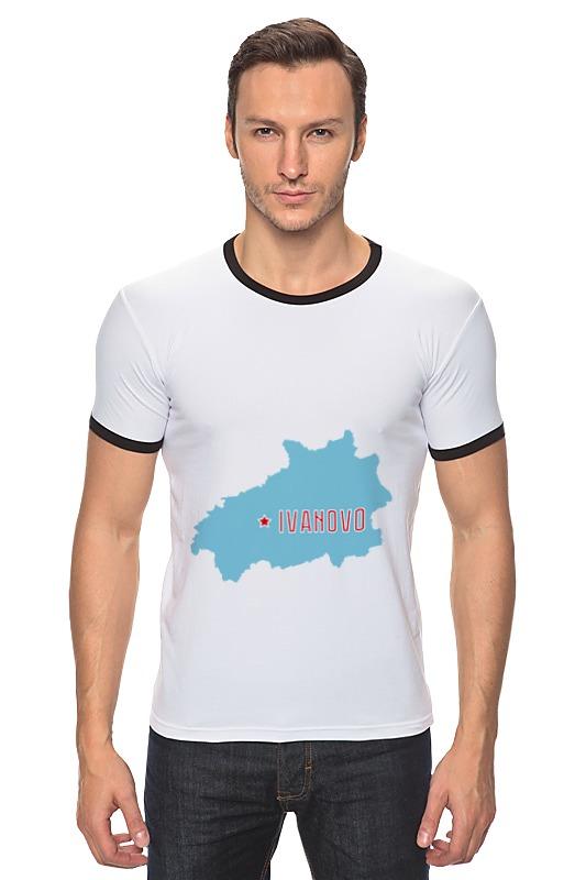 Футболка Рингер Printio Ивановская область. иваново