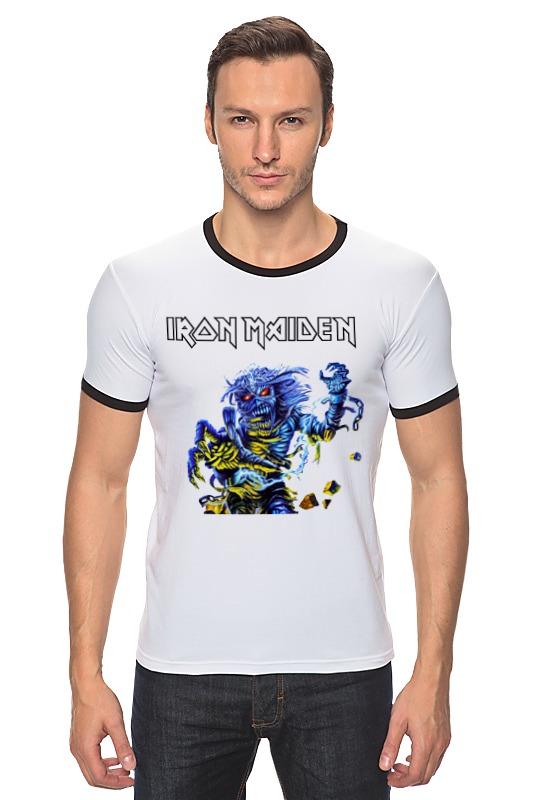 Футболка Рингер Printio Iron maiden band футболка для беременных printio iron maiden