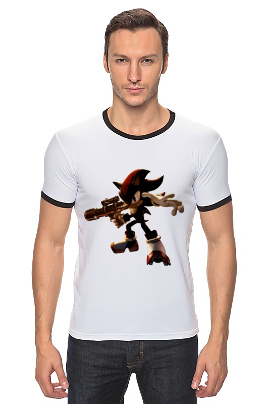 Футболка Рингер Printio Shadow the hedgehog (ёж шэдоу) the mountain shadow