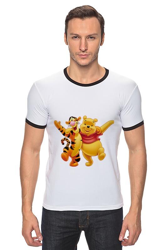Футболка Рингер Printio Винни пух и тигра футболка рингер printio винни пух