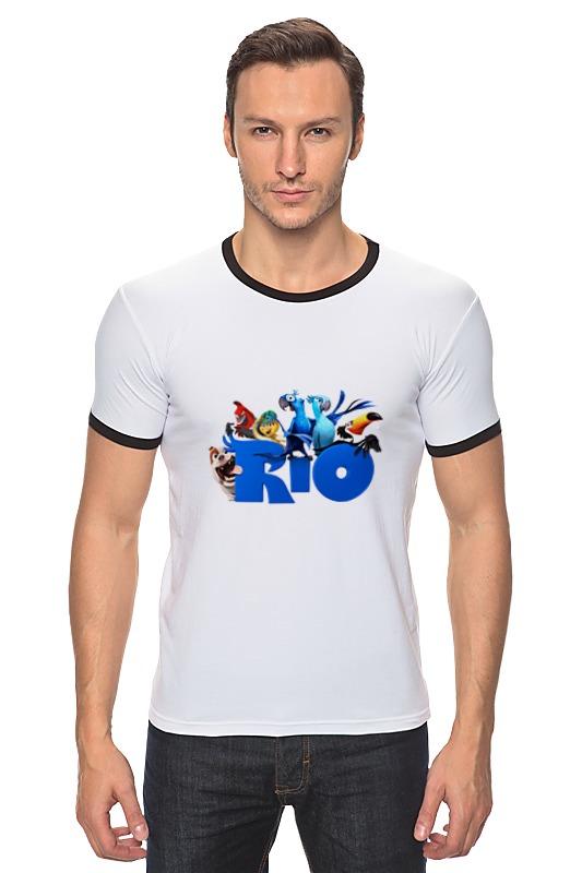 Футболка Рингер Printio Rio all stars american dj bubble junior купить