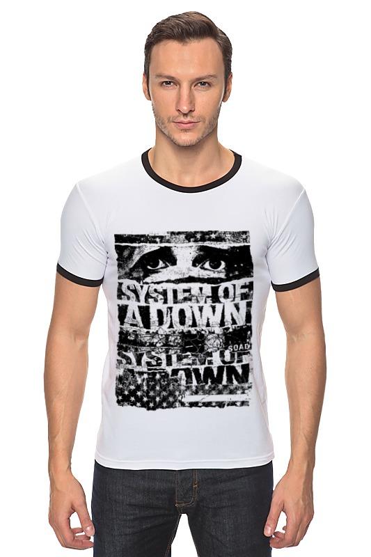 Футболка Рингер Printio System of a down футболка для беременных printio system of a down