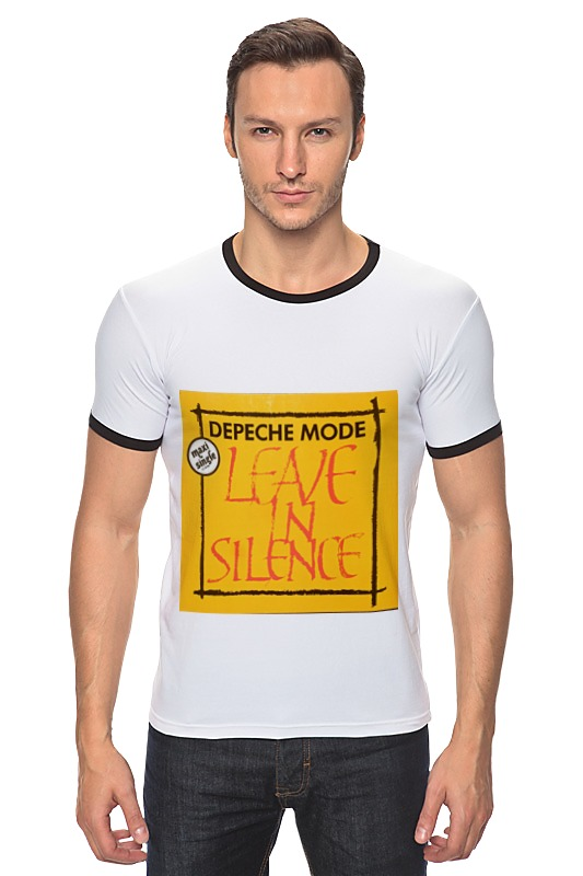 Футболка Рингер Printio Depeche mode depeche mode depeche mode a broken frame 180 gr