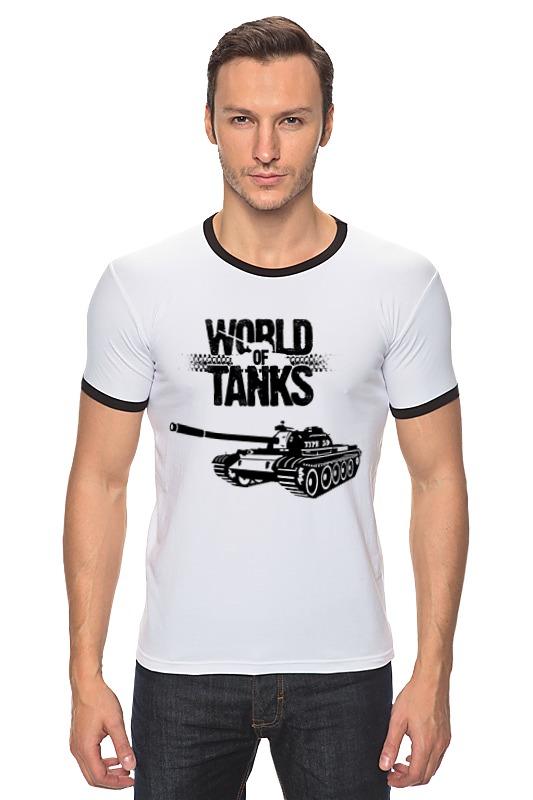Футболка Рингер Printio World of tanks - type 59 футболка стрэйч printio world of tanks type 59