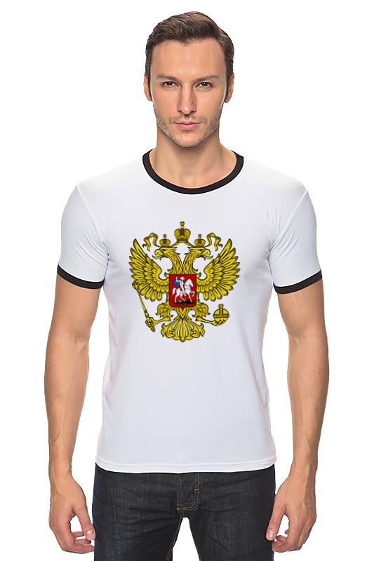 Футболка Рингер Printio Russian federation футболка для беременных printio property of russian federation
