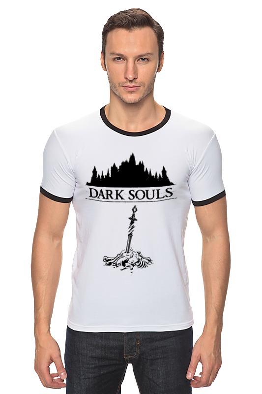 Футболка Рингер Printio Dark souls dark souls prepare to die