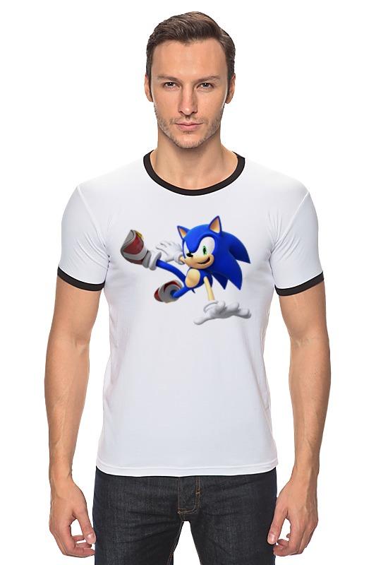 Футболка Рингер Printio Sonic dance футболка для беременных printio sonic dance