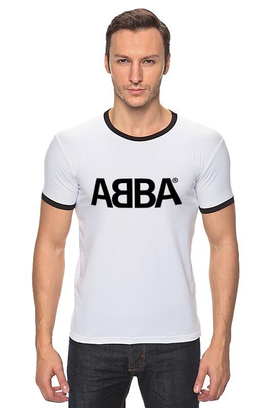 Футболка Рингер Printio Группа abba
