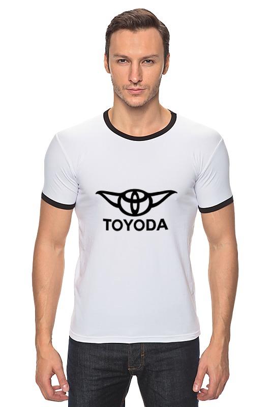 Футболка Рингер Printio Тойода - тойота + йода логотип уплотнитель резиновый для тойота хайс