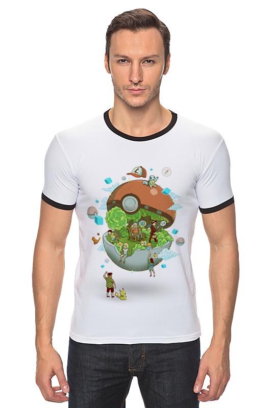 Футболка Рингер Printio Покемон / pokemon