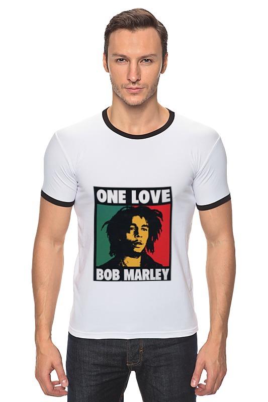 Футболка Рингер Printio Bob marley футболка стрэйч printio bob marley rasta