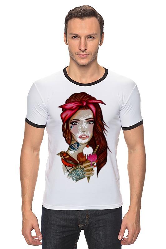 Футболка Рингер Printio Bad girl футболка рингер printio tatoo girl