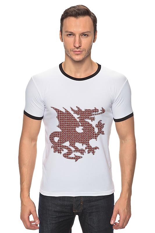 Футболка Рингер Printio Гарыныч футболка wearcraft premium printio китайский дракон