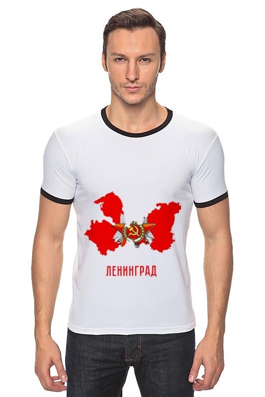 Футболка Рингер Printio 9 мая. ленинград футболка рингер printio отечественная война