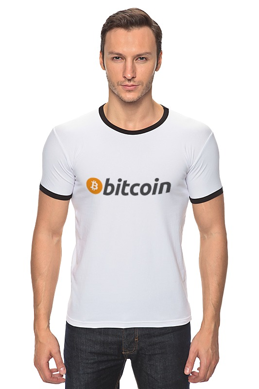 Футболка Рингер Printio Bitcoin bitcoin commemorative coin 1pc