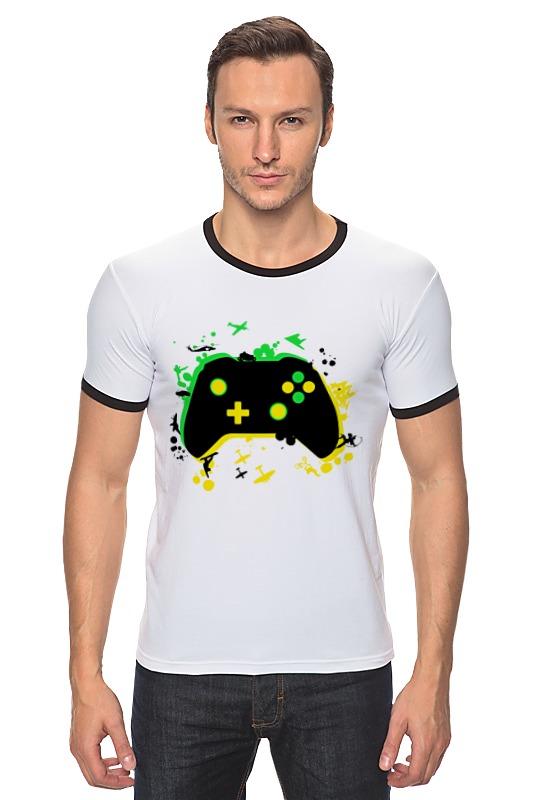 Футболка Рингер Printio Игрок (геймер) футболка рингер printio игрок геймер